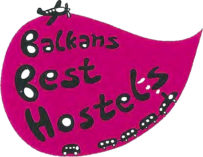 Balkans best hostel logo